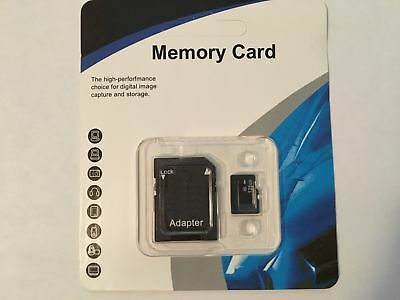 128 GB. Micro sd Memory Card Class 10 Free SD Adapter.