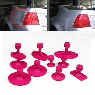 Dent Removal Tool Paintless Dent Repair Tool Kit Suction Cup Puller Glue Tabs W