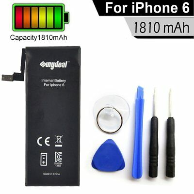 Battery for iPhone 6 1810mAh & Tools Kit For Apple Internal Replacement