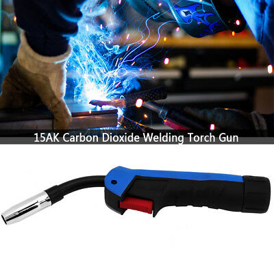 15AK Carbon Dioxide Welding MIG/MAG Cutting Torch Gun Part Head Replacement Blue