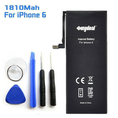 Replacement 1810mAh Li-ion Battery With Flex Cable Adhesive + Tools For iPhone 6