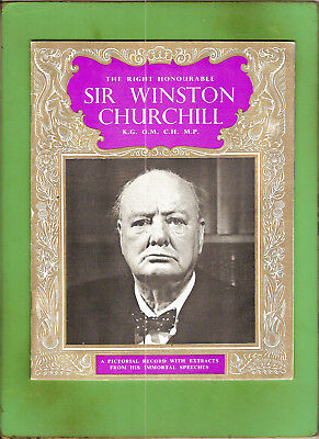 #D370. British Booklet - Winston Churchill, About 1960
