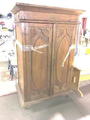 Armoire 18th Century Built In Cupboard Cabinet Massachusetts Early American