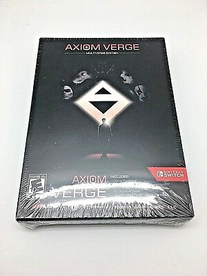 AXIOM VERGE MULTIVERSE EDITION Nintendo Switch Game  BRAND NEW SEALED