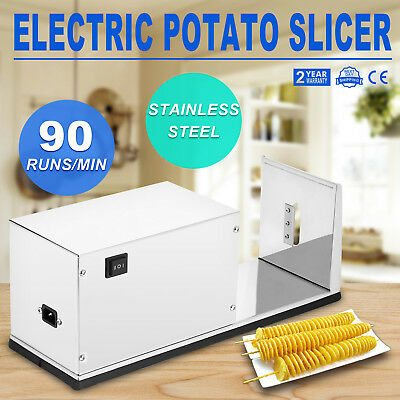 Electric Steel Twisted Potato Tornado Slicer /Automatic Cutter Stainless Machine