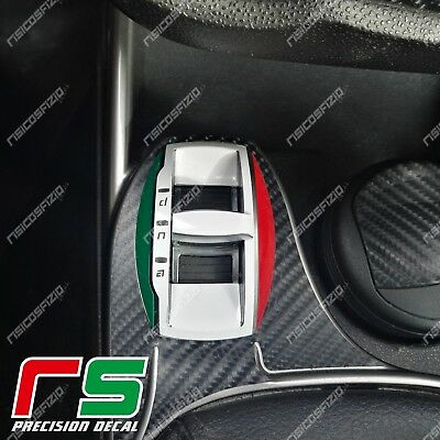 alfa romeo mito adesivi sticker decal dna tricolore base tuning carbon look