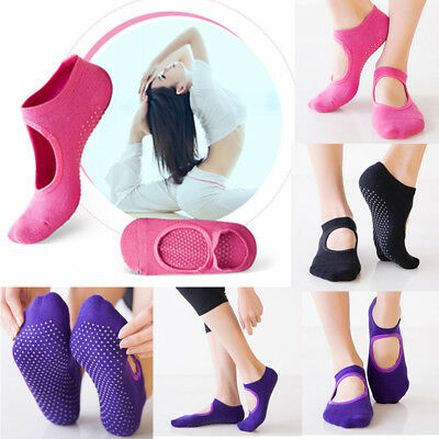 Fashion Women Cotton Socks Yoga Barre Socks Non Slip Skid Barre Pilates Ballet