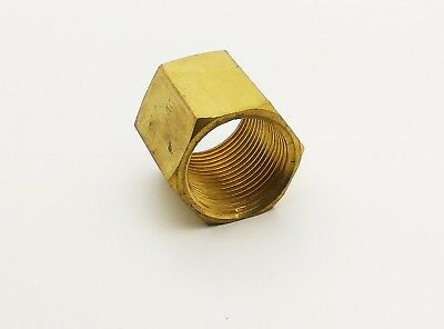 1/4 Bsp Hex Fully Threaded Stud Connector Coupler Joining Connecting Thread Nut