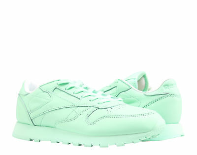 Reebok Classic Leather Pastels Mint Green White Women s Running Shoes BD2773 73466f0bd