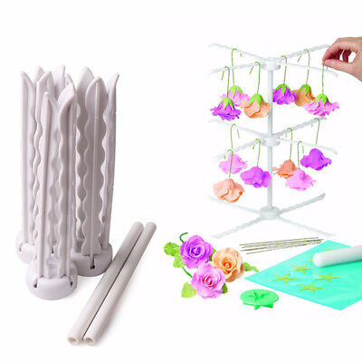 Sugarcraft Tool Flower Drying Sugar Fondant 3 Layers Stand Cake Decorating Rack