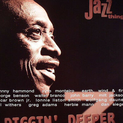 Various - Diggin' Deeper 7 - The Roots Of Acid Jazz (2LP, NEW, Sealed)