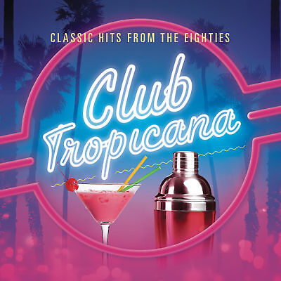Club Tropicana (CD) Best of the Eighties OFFICIAL Gift WHAM Etc. Greatest hits