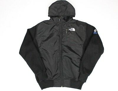 The North Face Summit Series men's black hooded jacket, Size L