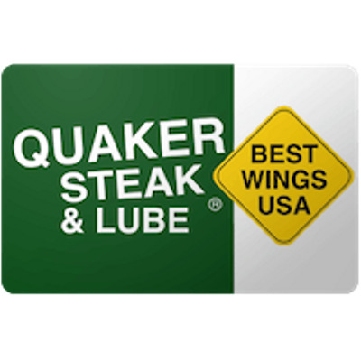 Quaker Steak Gift Card $25 Value, Only $19.37! Free Shipping!