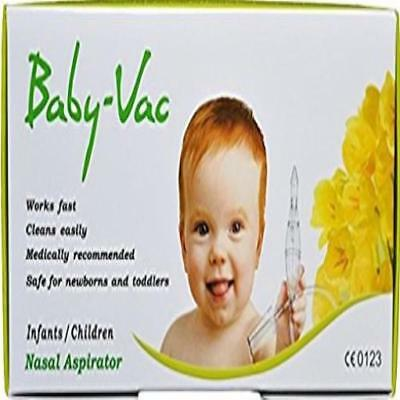 Baby Vac Nasal Vacuum Aspirator Suction Nose Cleaner