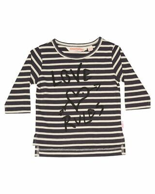 New Munster Kids Kids Baby Love Rules Ls Tee Long Sleeve Cotton Jersey