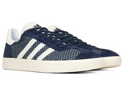 516dfdcea Adidas Originals Gazelle Pk Primeknit Navy White Men s 8 Lifestyle By9779