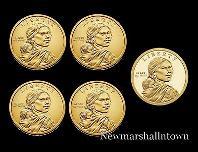 2018 P+D+S Native American Sacagawea Set ~ Proof & PD Pos A+B from Mint Rolls