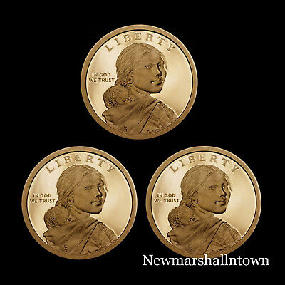 2016 2017 2018 S Native American Sacagawea Proof ~ US Coin from Proof Set