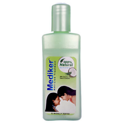 100 % Original Mediker Anti Lice Treatment Shampoo 50 ml With Coconut Oil Neem