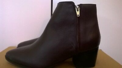 Cox 100% Leather Brown Women Boots size UK 8 EUR 42 RRP E 89.95