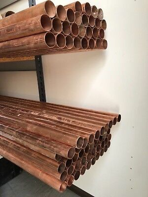 JOB LOT 35mm Copper Tube Plumbing Pipe 51 x 3m lengths bulk purchase wholesale