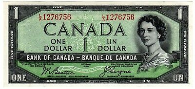 1954 Canada 1 Dollar Devil's Face Note - LA1276756, BC-29b