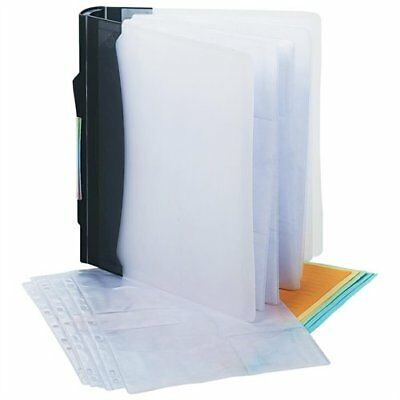Innovera Cd/dvd Ring Binder - 3 X Ring Fastener - Clear, Black (39300_40)