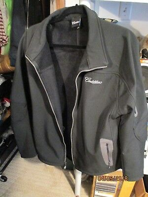 Official Licensed Cadillac Coat. Black and Size Large. Free Shipping