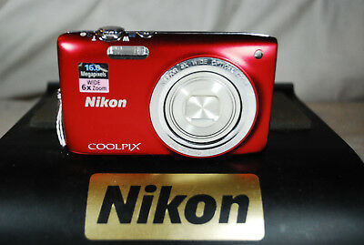 Excellent Nikon COOLPIX S2700 16MP Compact Digital Camera - Choice of Colours