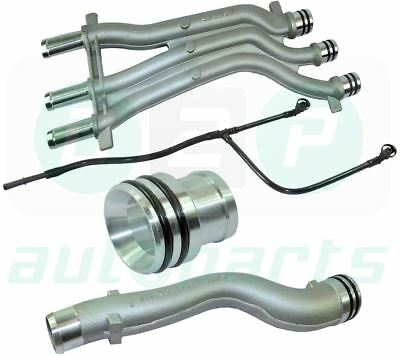 Pour Porsche Cayenne 4.5 V8 (2003-2006) Alu Durite Circuit Extension Kit de