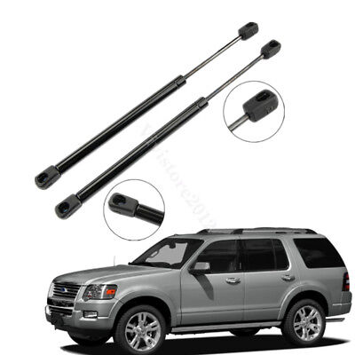 Pair Car Hood Spring Gas Lift Supports Shocks Arm Struts fit 02-10 Ford Explorer