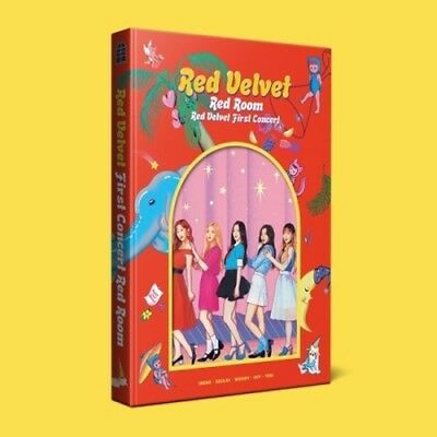 Red Velvet - [First Concert Red Room] 160p PhotoBook+Store Gift K-POP Sealed