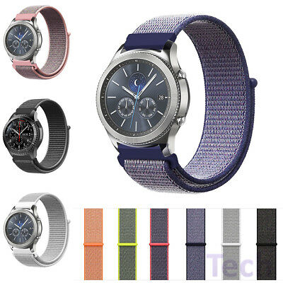 Sport Woven Nylon Strap Watch Band For Samsung Gear S3 Frontier/Classic 22mm