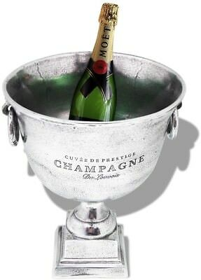 Vintage Champagne Cooler Party Wine Ice Bucket Trophy Cup Silver Home Decor Gift