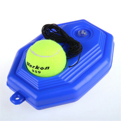 Quality Portable Tennis String Ball Trainer Set Practice Training Tool