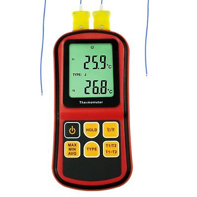 Digital K / J / T / E / R / S / N Type Thermocouple Thermometer -150 ~ 1767°C