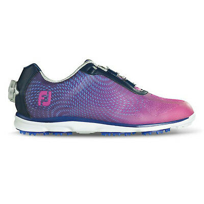 FootJoy Ladies emPOWER BOA Womens Golf Shoes Navy/Plum - Wide Fit