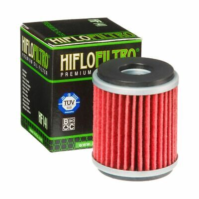 Hiflo HF141 Yamaha WR125 X / R 09-16 Replacement Motorcycle Oil Filter K&N KN141