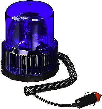 12V Blue Revolving Beacon Emergency Warning Light Auto Car Warning Signal