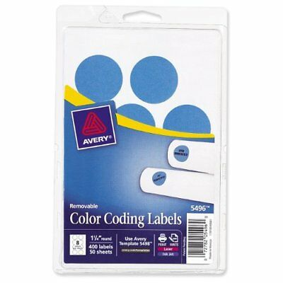 AVERY® REMOVABLE ROUND Multipurpose Labels, 5410, 1