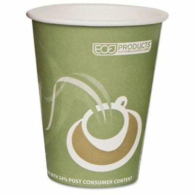 Eco-products Evolution World Pcf Hot Cups - 12 Oz - 1000/carton - (epbrhc12ew)