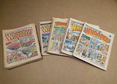 Whoopee comic 1977-1981 43 issues.