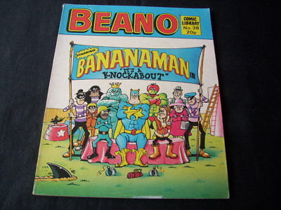 """Beano Comic Library N0. 38 'bananaman In """"it's A Knockabout""""''"""
