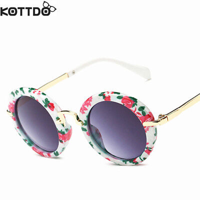 6 Colors Fashion Round Cute Kids Sunglasses Brand Boys And Girls Sunglasses Baby