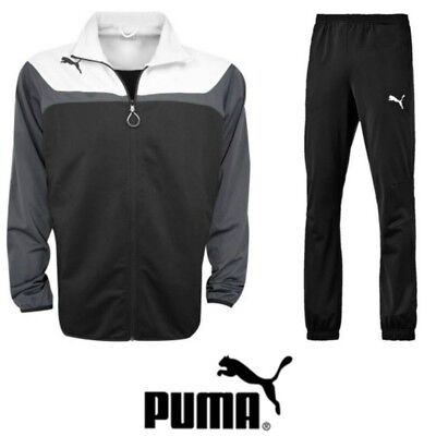 Puma Junior Tracksuit Boys Top Bottoms Girls Sports Training Kids Full Suit NEW