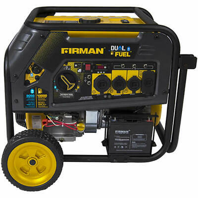 Firman H08051 - Hybrid Series 8000 Watt Electric Start Dual Fuel Portable Gen...