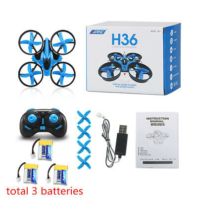 RC Quad Mini Drone 6 Axis Gyro Battery Foldable Quadcopter Helicopter Kids USB