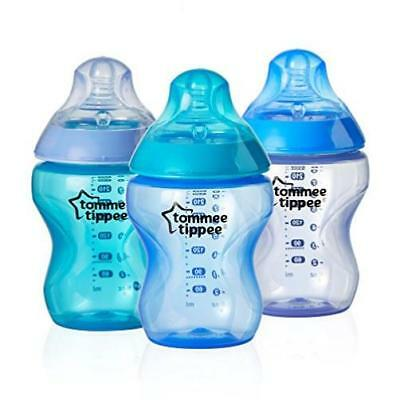 Baby Feeding Tommee Tippee Closer To Nature Colour My World Feeding Bottles, Boy