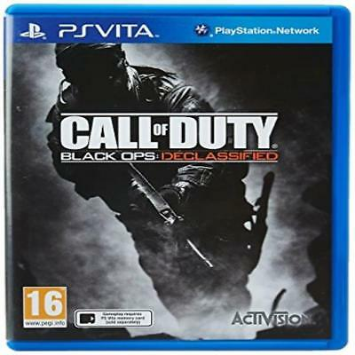 Call Of Duty Black Ops Declassified Playstation Ps Vita Psv & Sealed Kids Game